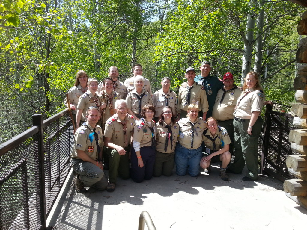 Attending Utah's 2014 Bilingual ASL/ English Wood Badge Course